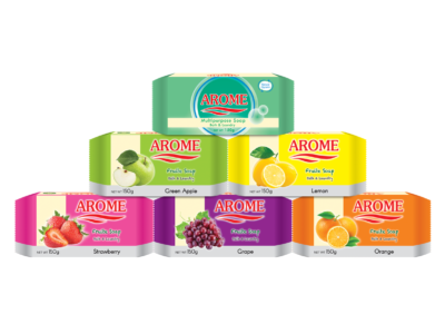 Arome Multipurpose Soap_150 g Flow Wrap