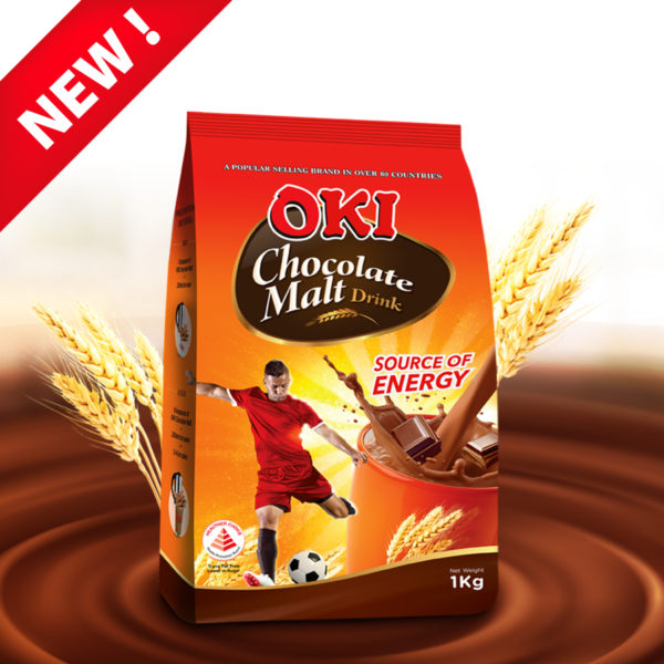 New Product-OKI Chocolate Malt Drink